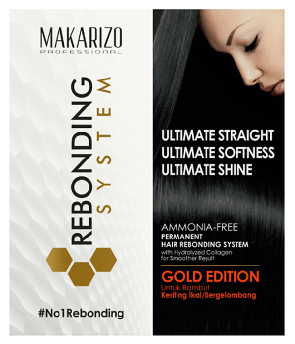 Rebonding System Monopouch Gold Edition 125 ml