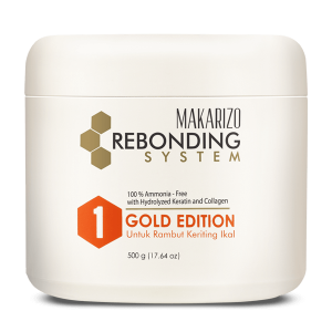 Rebonding System Straightening Cream Gold Edition 500 g