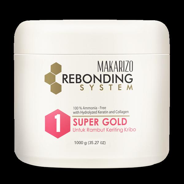 Rebonding System Straightening Cream Super Gold 500 g