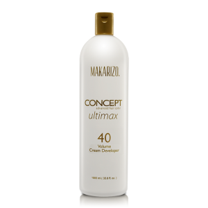 Concept Ultimax Cream Developer 40 Volume Bottle 1000 ml